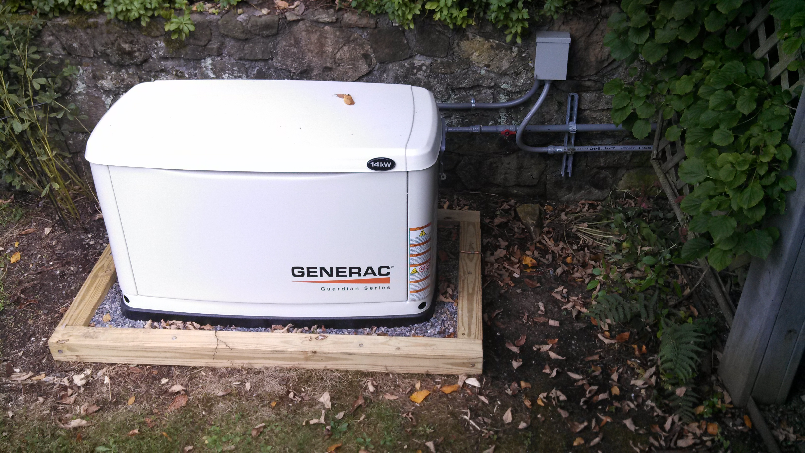 generator installations in Randolph New Jersey